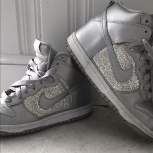 Nike grey high tops